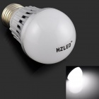 HZLED E27 3W 245lm 6000K 6 x SMD 5630 LED White Light Lamp Bulb - (AC 220V)