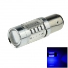 1157 / BAY15D 7.5W 400lm 5-LED Blue Car Brake / Backup / Steering / Tail Light Lamp - (12~24V)