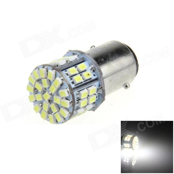 1157 / BAY15D 5W 300lm 50 x SMD 3020 LED White Car Brake / Backup / Steering / Tail Light - (12V)