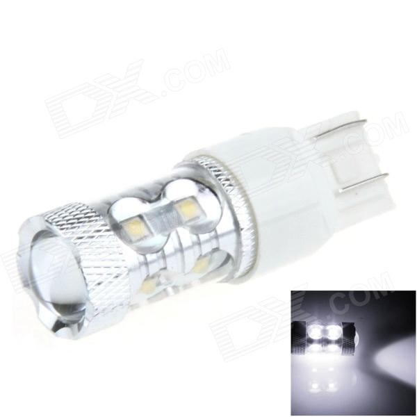 7443 / 7440 / T20 50W 700lm 10-LED White Car Steering / Signal / Brake Light - (12~24V)