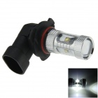 9006 / HB4 30W 600lm 6-LED White Light Car Foglight / Headlamp - (12~24V)