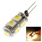 TZY A15 G4 1.8W 140lm 3000K 9 x SMD 5050 LED Warm White Light Lamp Bulb - (DC 12V)