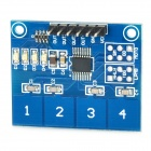 TTP224 4-way Capacitive Touch Key Digital Sensor Module - Deep Blue