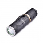 MarsFire 303 Cree XM-L T6 700lm 5-Mode White Flashlight w/ Clip - Black (1 x 16340 / 1 x CR123A)