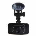 "GS9000L 2.7"" TFT 3.0 MP CMOS Wide Angle Car DVR w/ G-sensor / Mic / TF / 4-IR LED - Black"