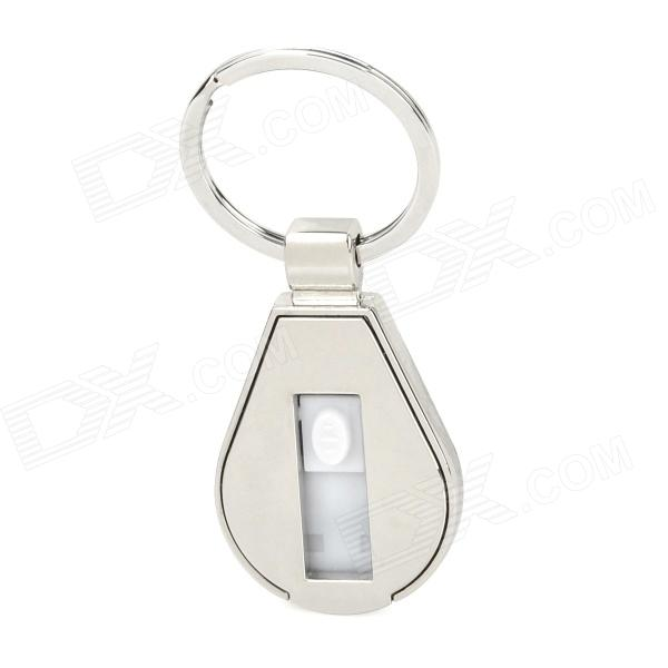Keychain USB 2.0 Flash Drive - Silver (32GB) usb flash drive
