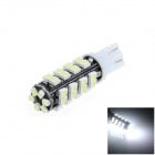 T10 / W5W 2W 180lm 38 x SMD 3528 LED White Car Side Light / Instrument / Reading lamp - (12V)