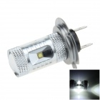 H7 30W 400lm 6-Cree XBD R3 White Electrodeless Car Foglight / Headlamp - (12~24V)