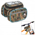 SHANFU TA-18 Cycling Bike Top Tube Bag / MP3 Speaker w/ TF - ACU Color