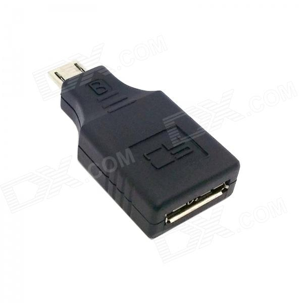 CY U3-127-BK Micro USB 3.0 9-Pin Female to Micro 5-Pin Male Adapter for Tablet PC / Phone - Black