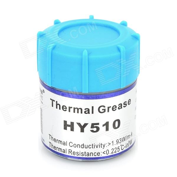 HY510 CPU Thermal Grease - Silver Grey synthetic graphite cooling film paste 300mm 300mm 0 025mm high thermal conductivity heat sink flat cpu phone led memory router