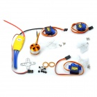 XL-15 A2208 1000KV SG90 9g Electronic Speed ​​Controller-Modell Flugzeug Fixed Wing Set - Bunt