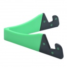 Universal Desktop Stand for Retina iPad Mini / Cell Phone / Tablet PC - Black + Green