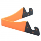 CHEERLINK Universal Desktop Stand for Retina Ipad MINI / Cell Phone / Tablet PC - Black + Orange