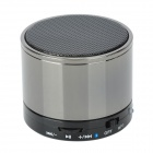 YX-S10 Universal Mini Portable Bluetooth V2.1 Speaker w/ TF / Microphone - Deep Grey + Black