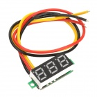 "DD61 DIY 0.28"" 3-Digit LED Digital Voltmeter - Black"