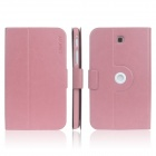 ENKAY ENK-7034 360' Rotation Protective Case Stand for Samsung Tab 3 7.0 T210 / T211 / P3200 - Pink