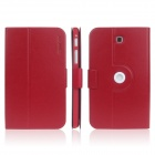 ENKAY ENK-7034 360' Rotation Protective Case Stand for Samsung Tab 3 7.0 T210 / T211 / P3200 - Red
