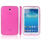 ENKAY TPU Back Case with Anti-dust Plugs for Samsung Galaxy Tab 3 7.0 T210 / T211 / P3200- Deep Pink