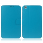ENKAY ENK-7038 Protective PU Leather Case w/ Stand for Samsung Tab 3 8.0 T310 / T311 - Light Blue