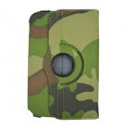 Rotation Camouflage Cases for Samsung N5110 N5100 Galaxy NOTE 8.0 - Camouflage Green