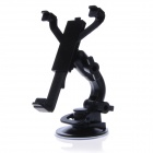 JHD-02HD08 360 Degree Rotation Holder Mount w/ Back Clamp for GPS / PDA / EBOOK - Black