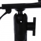 360 Degree Rotation Holder Mount w/ Back Clamp for GPS / PDA / EBOOK - Black