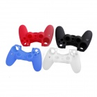 e-J YYX-01 Protective Silicone Cases for PS4 Controller - Black + Blue + Red + White (4 PCS)