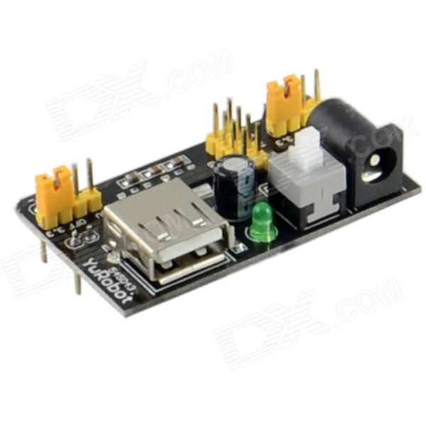 HZDZ Power Module for Breadboard - Black (6.5~12V)