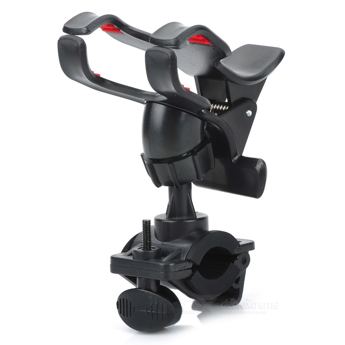 Bicycle Mountain Bike Motorcycle Cycling GPS Navigator Phone Holder Stand - Black