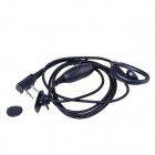 Baiston BST BZ-K Professional Walkie Talkie Woven Fabric Earphone w/ Interface Type of K - Black