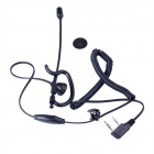 Baiston BST-K Professional Curve Tactical Walkie Talkie Headset w/ Extension Rod+ Interface of K