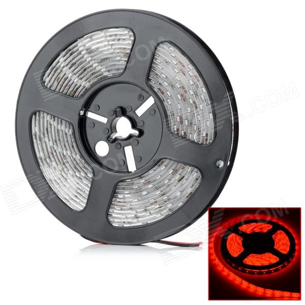 HML Waterproof 30W 9000lm 655nm 300 x SMD 5630 LED Red Light Car Decoration Light Strip - (12V / 5M)5630 SMD Strips<br>Color BINRedBrandHMLModel5630-BPQuantity1 DX.PCM.Model.AttributeModel.UnitMaterialFPCForm ColorOthersEmitter Type5630 SMD LED,5630 SMD LEDChip BrandHugaTotal EmittersOthers,300Color Temperature3000 DX.PCM.Model.AttributeModel.UnitWavelengthN/A DX.PCM.Model.AttributeModel.UnitRate Voltage12VPowerOthers,30WTheoretical Lumens10000 DX.PCM.Model.AttributeModel.UnitActual Lumens9000 DX.PCM.Model.AttributeModel.UnitApplicationDecoration light,Others,Outdoor building, car decoration, bridge, shopping mall, counter and indoor lighting, etcOther FeaturesWaterproof Rate: IP65; Connector Type: WiredCertificationCE / FCC / RoHSWater-proofNoRated VoltageOthers,AC 12 DX.PCM.Model.AttributeModel.UnitTotal Emitters300Wavelength655nmPower AdapterOthers,N/APacking List1 x LED light strip (5 meters)<br>