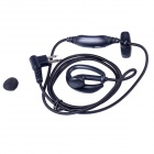 Baiston BST BZ-M Professional Walkie Talkie Woven Fabric Earphone w/ Interface Type of M - Black