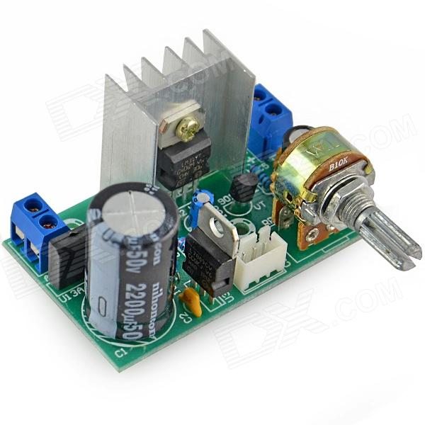 HZDZ LM317 Voltage EnergiaSupply Module Placa- Verde (1,25 ~ 37V)