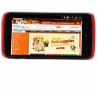 "S820 MTK6582 Quad-Core Android 4.2.2 WCDMA Bar Phone w/ 4.7"" QHD, 4GB ROM, Wi-Fi, GPS - Red"
