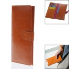 Newtop Clutch Bag w/ Card Slots / Phone Slot - Brown (Size-XL)