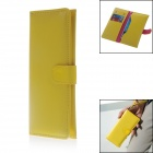 Newtop Clutch Bag w/ Card Slots / Phone Slots - Yellow (Size-XL)