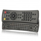 iPega PG-IP126 3-in-1 Bluetooth Keyboard Controller + Multi TV Remote Controller - Black