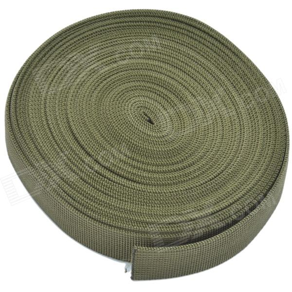CHEERLINK Ten-metres Nylon Strapping Knapsack Belt - Army Green (10m)