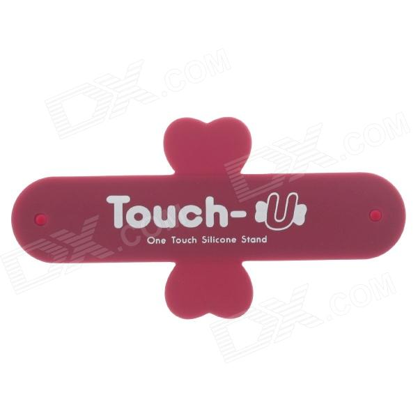 Touch-U Plasters Style Universal Mobile Phone Stand - Red