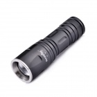 MarsFire Z8 LED 5-Mode 700lm Rotational Zooming White Flashlight - Black (1 x 26650)