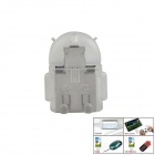 Micro USB Male to USB Female OTG Adapter for Samsung i9500 / i9300 / HTC / Sony - Translucent White