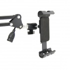 Grau Brilink ST01A 360 Rotatable Mesa / Cama Mobile Holder w / carregador de cabo para iPhone / iPad