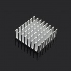 Jtron High Quality Heatsink / Silver Slotted - Silver (2.2 x 2.2 x 1.0cm)