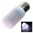 E27 3W 180lm 5500K 27 x SMD 5050  LED White Light Lamp Bulb - White (AC 220~240V)