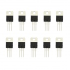 Jtron L7805CV 1.2A Three-Terminal Regulator Circuit - Black + Silver (10 PCS)