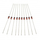 Jtron 1W 5.1V Voltage Regulator Diode - Red + Silver (10 PCS)