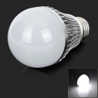 JRLED JR-LED-E27-5W-W E27 5W 300lm 6000K 10-5730 SMD White Light - Argent + Blanc (CA 85 ~ 265V)