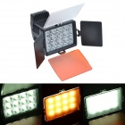 LED-104012-LED White Video Light w/ F970 for Camera / Camcorder - Black